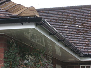 Guttering, soffit and fascias